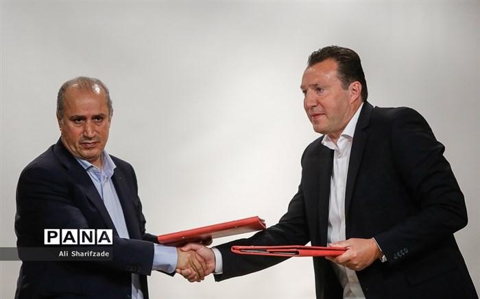 معارفه رسمی «مارک ویلموتس» سرمربی جدید تیم ملی فوتبال