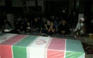 وداع با دو شهید گمنام  در شهرستان ملارد