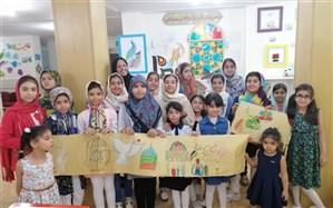 حمایت اعضا کانون خوزستان از کودکان مظلوم فلسطین