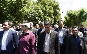 استاندار البرز: ملت ایران ظلم نمی پذیرد و حامی مظلومان جهان است