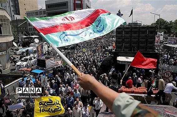 راهپیمایی روز جهانی قدس در تهران-3