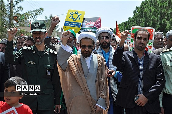 راهپیمایی روزجهانی قدس درشهرستان خوسف خراسان جنوبی