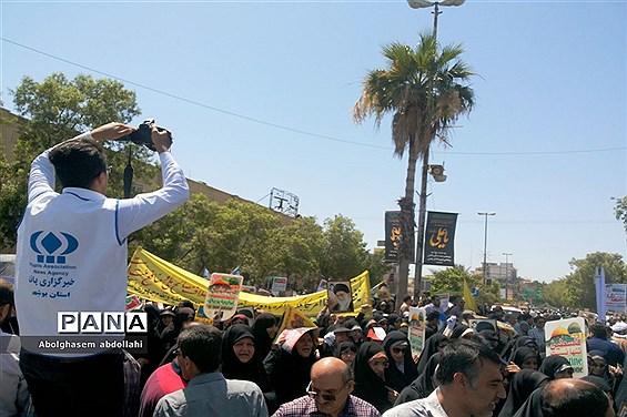 راهپیمایی روز جهانی قدس در بوشهر-۲