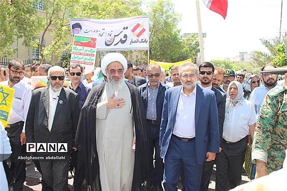 راهپیمایی روز جهانی قدس  در بوشهر-۳
