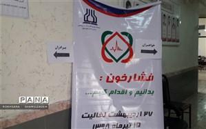 استقرار پایگاه سنجش ملی وکنترل فشارخون در اداره آموزش وپرورش شهرستان امیدیه