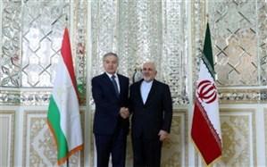 دیدار وزیر امور خارجه تاجیکستان با ظریف