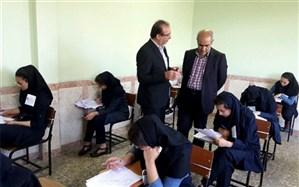 بازدید مدیرکل آموزش و پرورش آذربایجان شرقی از حوزه های برگزاری امتحانات نهایی
