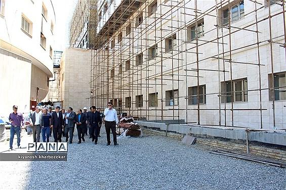 بازدید استاندار آذربایجان غربی از پروژه بیمارستان فوق تخصصی زنان ارومیه
