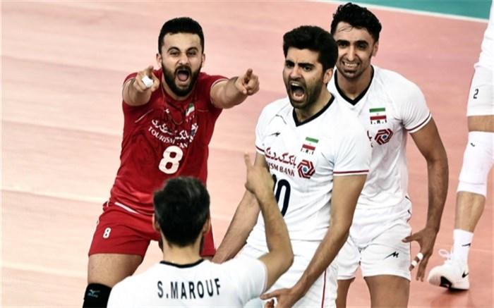 تیم ملی والیبال ایران 2019