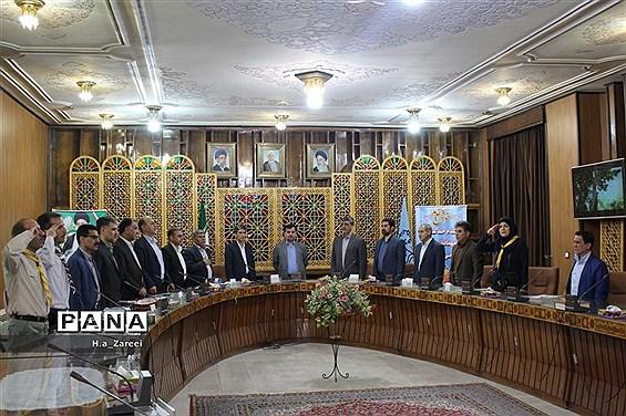 جلسه شورای برنامه ریزی سازمان دانش آموزی اصفهان