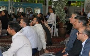 تجدید میثاق مسئولین دانشگاه فرهنگیان اصفهان با آرمان های امام راحل