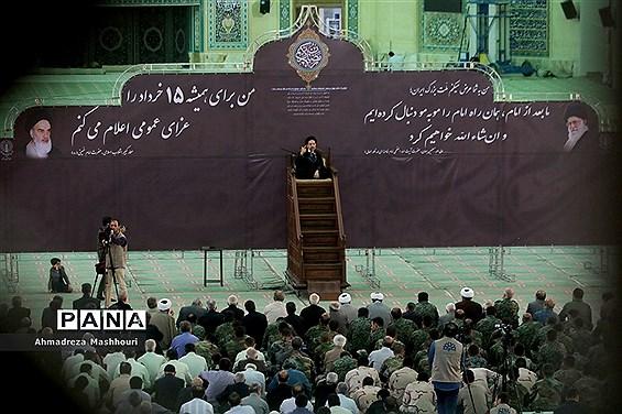 مراسم سالگرد ارتحال بنیانگزار جمهوری اسلامی ایران در مصلی امام خمینی تبریز