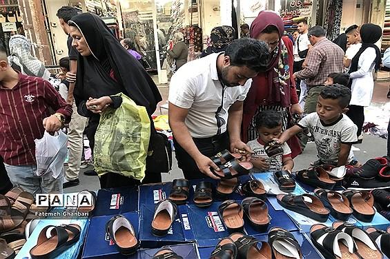 بازار داغ خرید عید فطر در اهواز