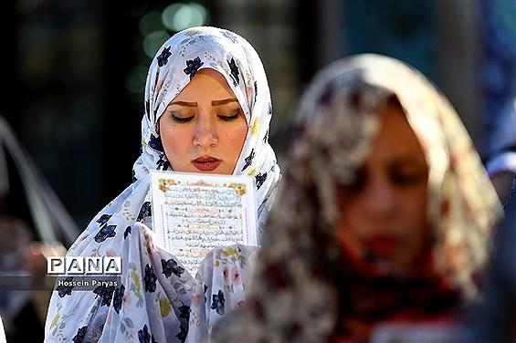 نماز عید فطر در امام زاده صالح(ع)