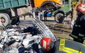 باز هم حادثه در جاده کازرون