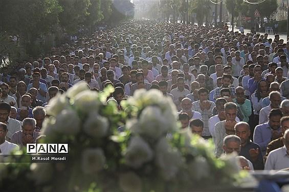 نماز عید سعید فطر در بندرعباس