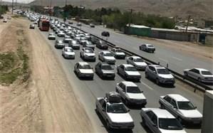 ترافیک سنگین و نیمه سنگین در راه های البرز