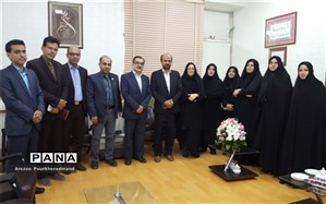 تبریک مجموعه سمپاد یزد جهت انتصاب معاون جدید اداره کل آموزش و پرورش