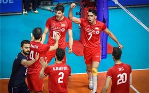 والیبال قهرمانی آسیا؛ ایران با برد آسان صعود کرد