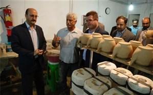 فاز جدید کارگاه سفالگری عتیق در استان قزوین به بهره برداری رسید