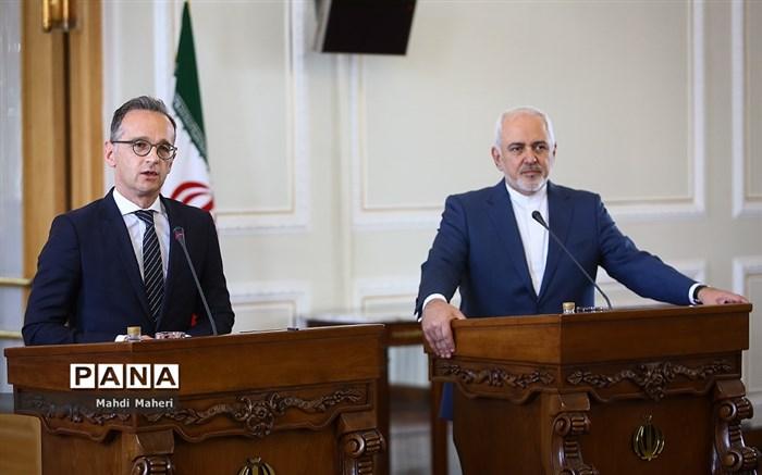 دیدار وزیر امورخارجه آلمان با محمدجواد ظریف