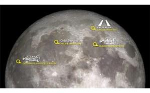 محل فرود فرودگرهای تجاری ناسا روی ماه مشخص شدند
