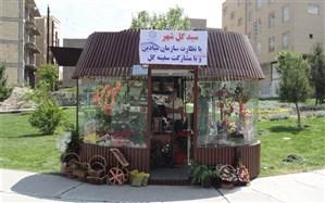 کیوسک های گلفروشی سطح شهر تبریز شناسنامه دار شدند
