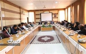 جلسه ساماندهی لباس فرم دانش آموزان شهرستان جیرفت برگزار شد