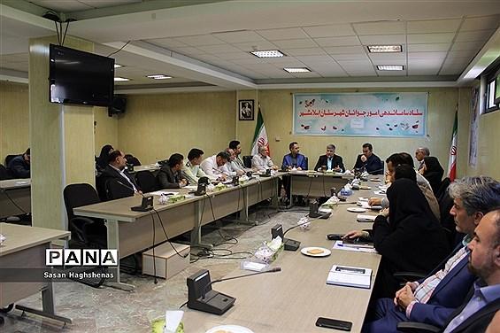 جلسه ستادساماندهی امور جوانان اسلامشهر