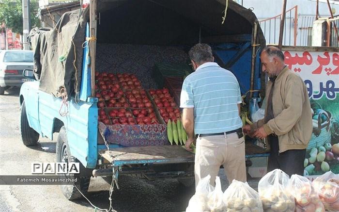 بازار روز میوه و ترهبار فریدونکنار