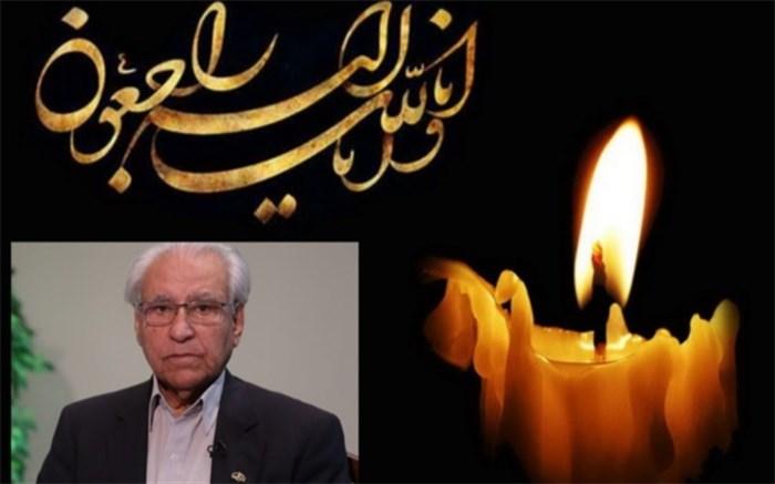 مدیرکل آموزش و پرورش استان البرز درگذشت رئیس فقید مجمع خیرین مدرسه ساز کشور را تسلیت گفت