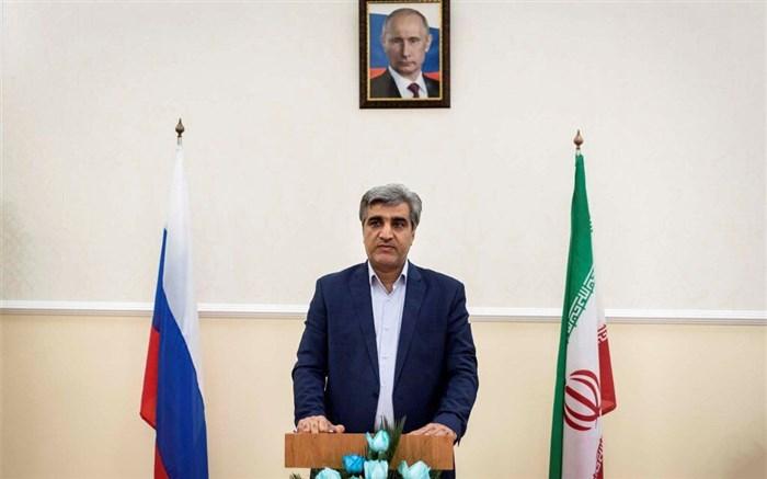 رئیسان جمهوری ایران و روسیه بر حذف موانع توسعه دو کشور تأکید دارند