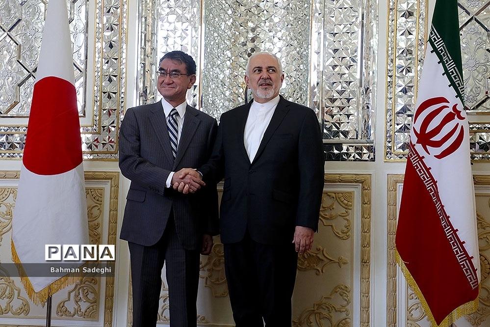 دیدار وزیران خارجه ایران و ژاپن