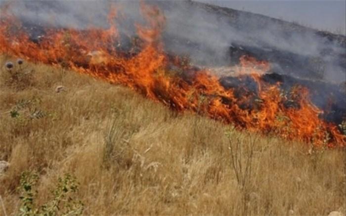 آتش سوزی در ششده و قر و بلاغ