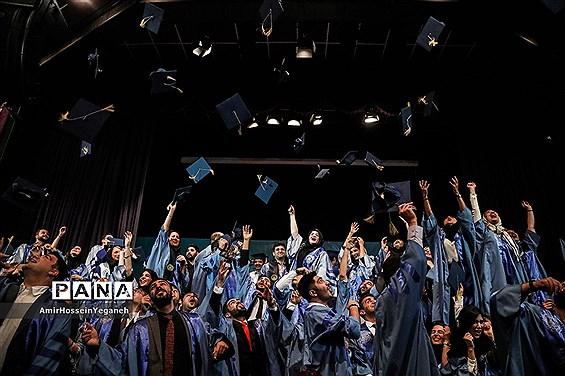 یازدهمین  مراسم دانش آموختگی دانشجویان پردیس بین الملل دانشگاه شریف جزیره کیش