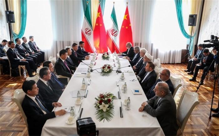 روسای جمهوری ایران و چین