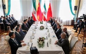 روحانی: ایستادگی  ایران و چین در برابر یکجانبه گرایی آمریکا به نفع آسیا و جهان است