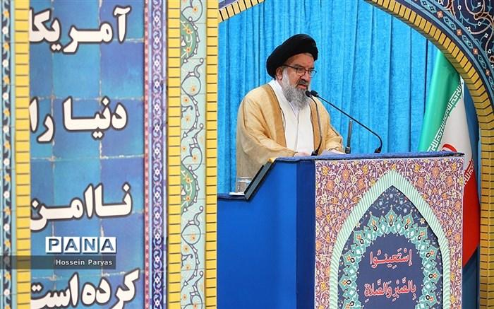 نماز جمعه تهران با سخنرانی پیش از خطبه وزیر آموزش و پرورش