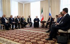 روحانی: اقدامات ایران در چارچوب حقوق خود در برجام است
