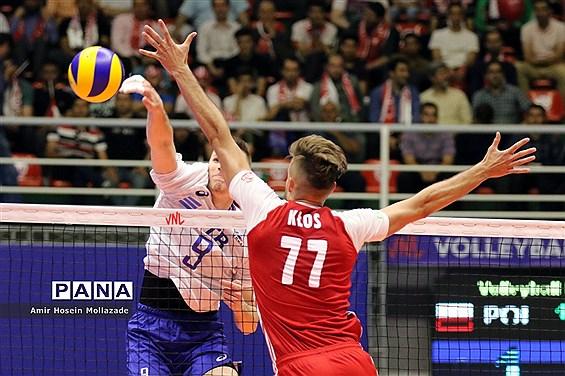 هفته سوم لیگ ملتهای والیبال  |  روسیه 3 - 1 لهستان