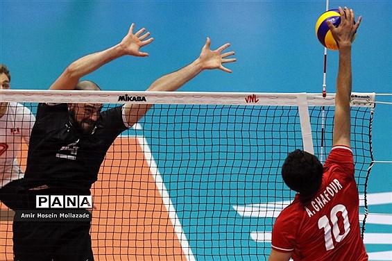 هفته سوم لیگ ملتهای والیبال | ایران 3 - 0 کانادا