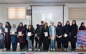 برگزاری مراسم تجلیل از برترین های پژوهشسرای دانش آموزی شهید مطهری دختران اسلامشهر