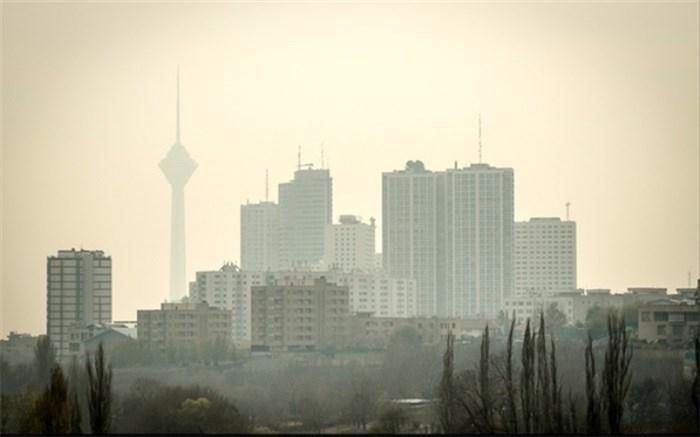آلودگی هوا - هوای تهران