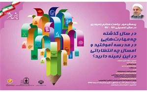 اعلام نتایج رقابتهای نوزدهمین فراخوان ملی پرسش مهر رئیسجمهور