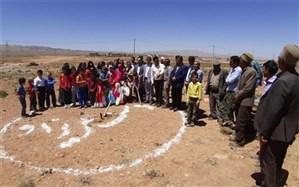آیین کلنگزنی آموزشگاه زنده یادغفاری شهرستان سمیرم