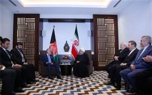روحانی: ایران خواهان ثبات، امنیت و توسعه افغانستان است