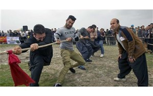 برگزاری مسابقات طنابکشی هیاتهای مذهبی قم