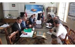برگزاری جلسه ستاد اجرایی نظارت و مدیریت برتهیه و توزیع لباس فرم دانش آموزی درناحیه  2 اردبیل