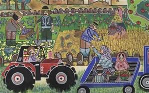 نقاشیهای نوجوانان اردبیلی برگزیده مسابقه بینالمللی بلاروس با عنوان «سرزمین مادری» شد