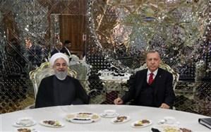 مخالفت ایران و ترکیه با هر گونه تحریم و یک جانبه گرایی در دیدار روحانی و اردوغان